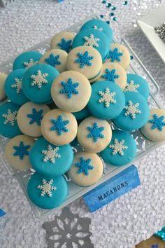 Original tip para comida|aperitivo de una celebración de cumpleaños Frozen. Tus invitados se quedarán de hielo. #Frozen #fiestadecumpleaños