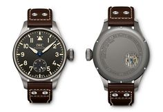 IWC Big Pilot's Heritage Watch 48 - front back - Perpetuelle