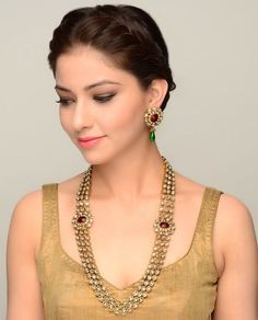 Kundan Jewelery Latest Designs & Trends for Asian Women 2016-2017 (21)