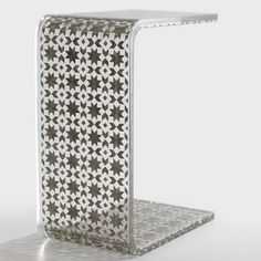 Clear Resin Table furniture, silver, clear