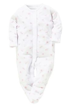 Buy Four Pack Girls White Sleepsuits (5LB-18mths) from the Next UK online shop