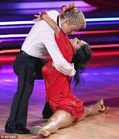 dwts Nicole Scherzinger & Derek Hough Rumba finals