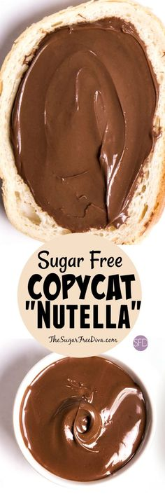 This recipe for hazelnut spread, aka copycat Nutella, is made without any added sugar. It is easy to make and works perfect with recipes, as a dip or even alone. Sure is yummy too!!!