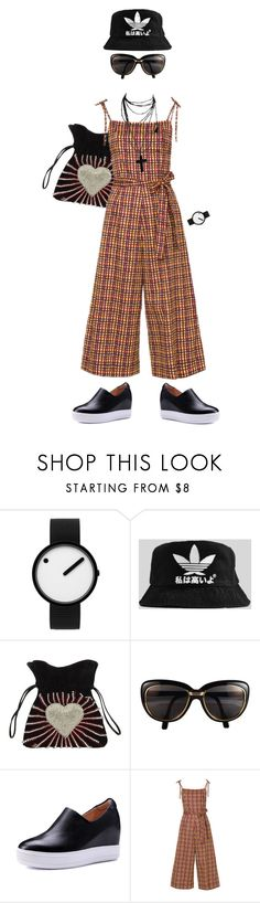 """""""#90 #coolgeek #pantsuit"""" by merryl-key ❤ liked on Polyvore featuring Rosendahl, Les Petits Joueurs, Cartier and Nili Lotan"""