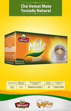 Chá Vemat Mate Tostado Natural  25gr