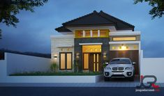House Layout Plans, House Layouts, House Plans, Minimalist House Design, Minimalist Home, House Construction Plan, Modern Bungalow House, Facade House, House Front