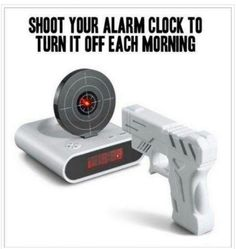 Wanntttttt!!? Cause that is exactly what I feel like doing to it every morning!