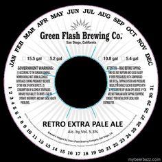 Green Flash Brewing - Retro Extra Pale Ale