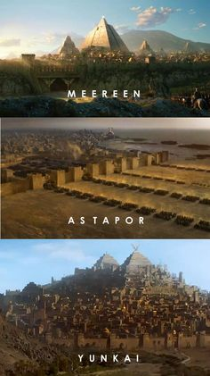Major Cities of Slaver's Bay #GOT