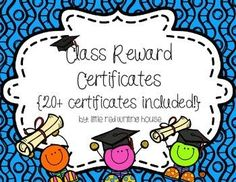 Grab this {HUGE FREEBIE!} of class certificates/rewards, each with a bright and vibrant theme as bright and vibrant as your kiddos! These are perfect for K-5, but can be used in any grade level, in tutoring or as part of summer school. **NOW INCLUDES AN EDITABLE VERSION WITH EDITING INSTRUCTIONS!**