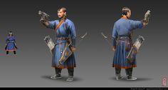 ArtStation - Medieval Mongolian Men, BurenErdene Altankhuyag