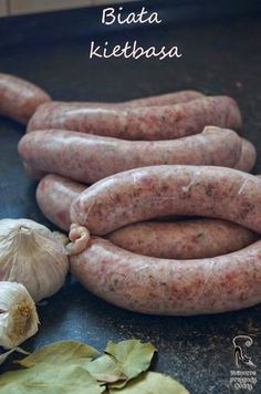 How To Make Sausage, Polish Recipes, Smoking Meat, Food And Drink, Kitchen, Sausages, Pork Meat, Cold Cuts, Homemade