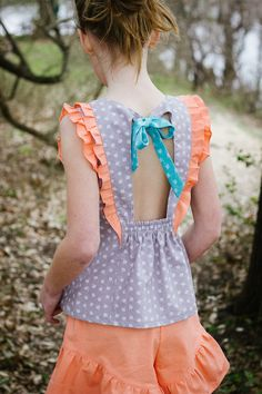 Sweeter Than Cupcakes: Modkid Brynn Top and Spring Break Shorts