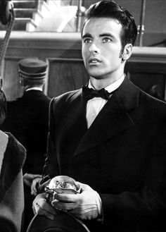 vintagechampagnefever:  Montgomery Clift in The Heiress
