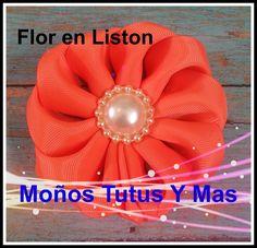 Como hacer FLORES DOBLANDO LISTON Paso a Paso FLOWERS FOLDING RIBBON Tut...