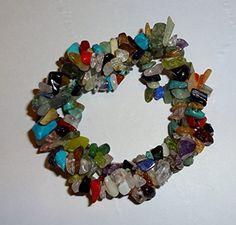 1 Natural Healing Crystal Mixed Stone Chakra Tripple Twist Braided Chip Gemstone 7 Inch Stretch Bracelet Sublime Gifts http://www.amazon.com/dp/B00E9WNQ0Q/ref=cm_sw_r_pi_dp_iJZ5ub0X5WXFP
