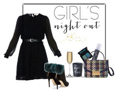 """""""Sans titre #608"""" by glamegirl ❤ liked on Polyvore featuring MICHAEL Michael Kors, NARS Cosmetics, Jimmy Choo, Urban Decay, Tory Burch, Nude and Bella Freud"""