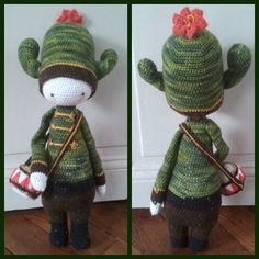 CARL the cactus made by relops / crochet pattern by lalylala
