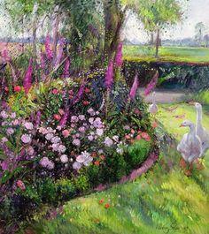 'Garden Geese'