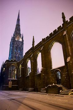 Coventry Cathedral England, been here and dads home town wonderful