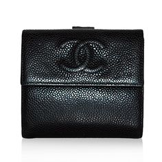 Chanel Black Caviar French Wallet http://www.consignofthetimes.com/product_details.asp?galleryid=7258