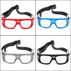 4c6f69d40f5 Football Basketball Riding Protective Safety Eyewear Goggles Sports Eye  Glasses