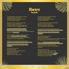 Lirik lagu (dan fanchant) Wanna One # Acak # amreading # books # wattpad One Song Lyrics, Korean Song Lyrics, Lyric Quotes, Wattpad, Kpop, Songs, Dan, Walls, Random
