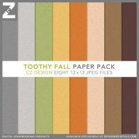 Toothy Fall Paper Pack