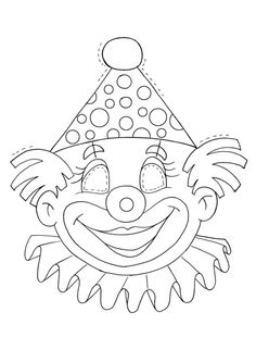 View album on Yandex. Colouring Pages, Printable Coloring Pages, Circus Crafts, Clown Party, Circus Clown, Altered Books, Baby Quilts, Art Sketches, New Art