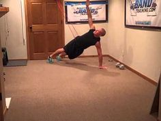 Plank Workout using Band Assistance | Resistance Bands - Reactive Training…Powerful Results