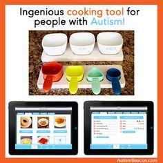 Autism cooking app
