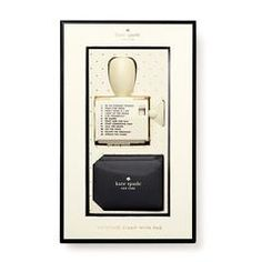 kate spade new york rotating stamp & ink set, escape the ordinary
