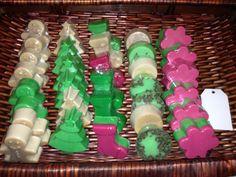 Jabones de glicerina ahora para esta navidad regale un jabón navideño www.fashartstore1.com