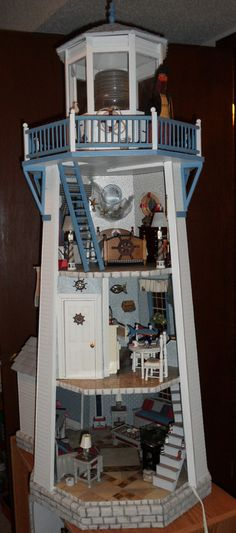 #miniature #lighthouses  RGT's Lighthouse 6 qw