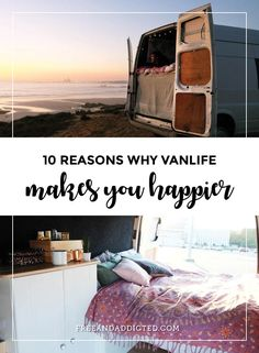 10 reasons why vanlife makes you happier