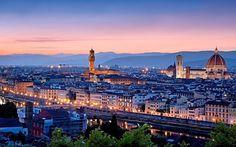 Il #tramonto su Firenze: spettacolo!!! #Italia2015 #raiexpo #expoidee #expo2015 #italia #worldfair #firenze