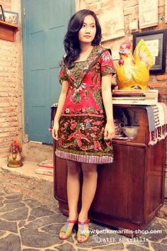 batik amarillis's hey sailor dress  available at   www.batikamarillis-shop.com