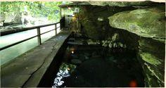 秘湯 壁湯天然洞窟温泉 旅館 福元屋 大分県九重町