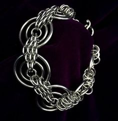 Chainmail art jewelry. Кольчужное плетение.