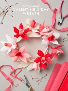 Valentine's Day Wreaths - Valentine's Day Craft Ideas - Good Housekeeping#slide-7