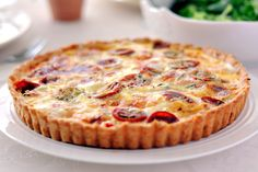 Tarte au thon, tomate et moutarde au Thermomix - Cookomix