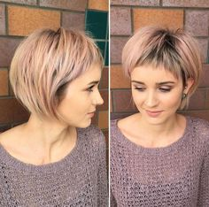 "Who says pastels can't look good with short hairstyles? We gathered the top pastel colors that will look stunning with short hair <a class=""g1-link g1-link-more"" href=""http://stylemish.com/gorgeous-pastel-shades-for-short-hair/"">More</a>"