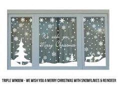 Window Sign Stickers - Tìm với Google Office Christmas, Noel Christmas, Winter Christmas, Christmas Crafts, Christmas Windows, Christmas Bingo, Xmas Holidays, Christmas Gingerbread, Christmas Window Stickers