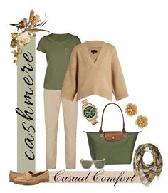 """""""Casual Comfort"""" by mountainalive ❤ liked on Polyvore featuring Steve Madden, rag & bone, Longchamp, Timberland, Fjällräven, Nili Lotan, Givenchy, Michael Kors and Miriam Haskell"""