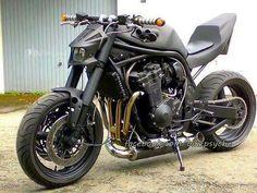 Cowboy From Hell Moto Suzuki, Suzuki Motorcycle, Moto Bike, Motorcycle Design, Bike Design, Custom Street Bikes, Custom Bikes, Ducati, Yamaha