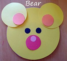 Pieces by Polly: Kindergarten Pi-Day Activities - Tragen Creative Arts And Crafts, Paper Crafts For Kids, Daycare Crafts, Preschool Crafts, Art Drawings For Kids, Art For Kids, Easy Toddler Crafts, Bear Crafts, Pi Day