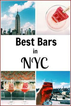 12 of the best bars in NYC from rooftop, to outdoors, to hidden bars. Check this…