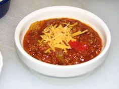 low-cal chili