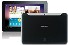 Ahh... The finest Android tablet available today on the market: the Samsung Galaxy Tab 10.1