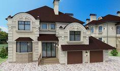 фасад - миниатюра 8 Custom Home Designs, Custom Homes, Good House, Future House, Modern Contemporary, House Plans, Exterior, House Design, Luxury
